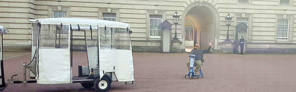 Trip - Scooting at the Palace