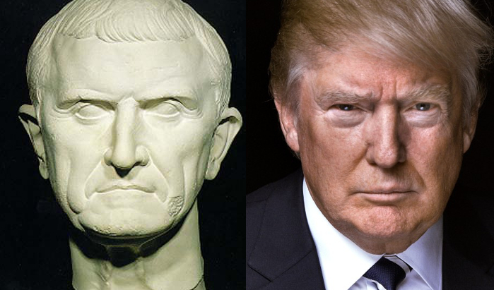 Crassus and Trump