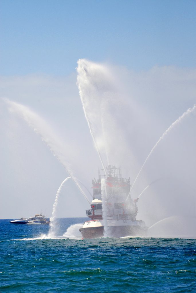 Long Beach Fireboat